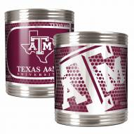 Texas A&M Aggies Stainless Steel Hi-Def Coozie Set