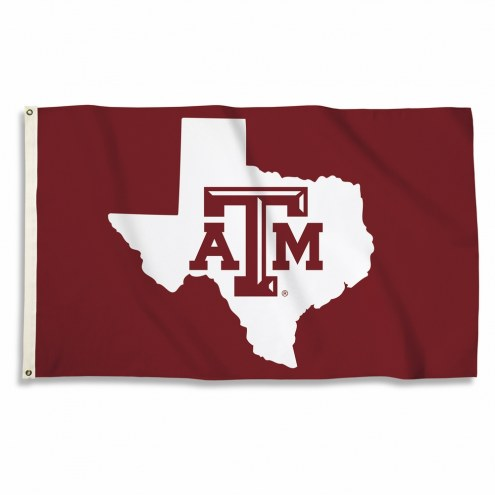 Texas A&M Aggies State 3' x 5' Flag