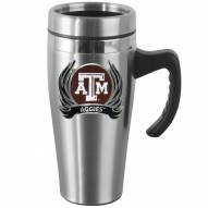 Texas A&M Aggies Steel Travel Mug w/Handle