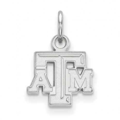 Texas A&M Aggies Sterling Silver Extra Small Pendant
