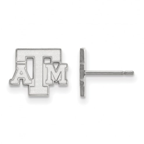 Texas A&M Aggies Sterling Silver Extra Small Post Earrings