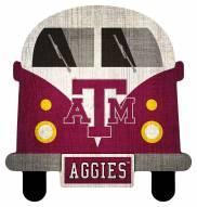 Texas A&M Aggies Team Bus Sign