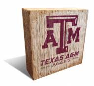 Texas A&M Aggies Team Logo Block