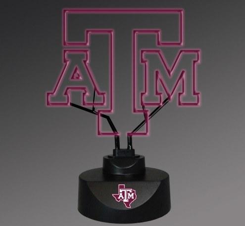 Texas A&M Aggies Team Logo Neon Lamp
