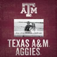 """Texas A&M Aggies Team Name 10"""" x 10"""" Picture Frame"""