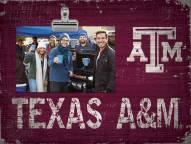 Texas A&M Aggies Team Name Clip Frame