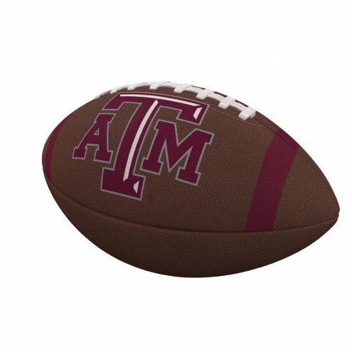Texas A&M Aggies Team Stripe Official Size Composite Football