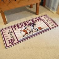 Texas A&M Aggies Ticket Runner Rug