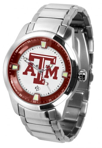 Texas A&M Aggies Titan Steel Men's Watch