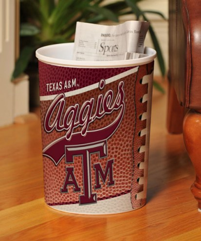 Texas A&M Aggies Trash Can