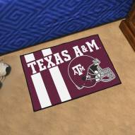 Texas A&M Aggies Uniform Inspired Starter Rug