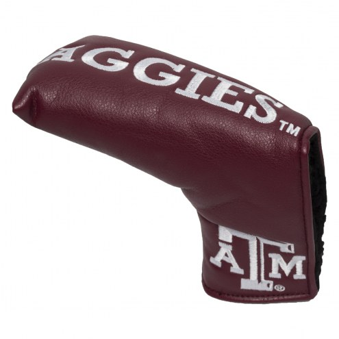 Texas A&M Aggies Vintage Golf Blade Putter Cover