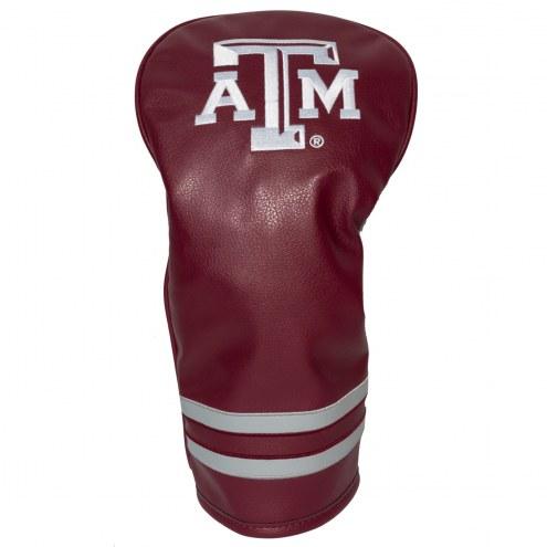 Texas A&M Aggies Vintage Golf Driver Headcover