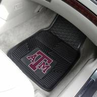 Texas A&M Aggies Vinyl 2-Piece Car Floor Mats