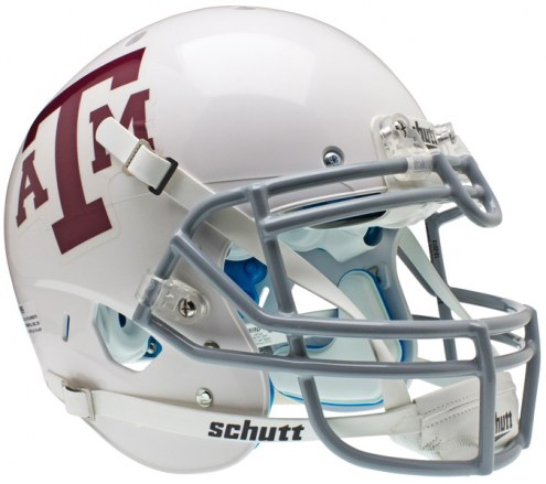Texas A&M Aggies White Schutt XP Authentic Full Size Football Helmet
