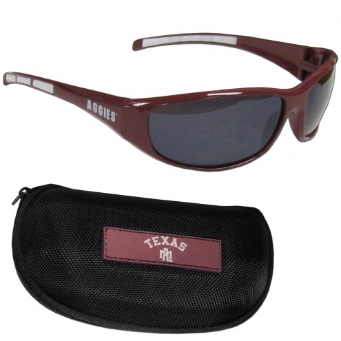 Texas A&M Aggies Wrap Sunglasses and Case Set