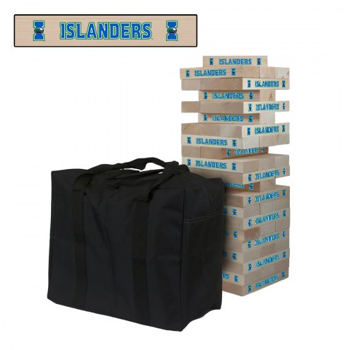 Texas A&M-Corpus Christi Islanders Giant Wooden Tumble Tower Game