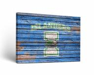 Texas A&M-Corpus Christi Islanders Weathered Canvas Wall Art
