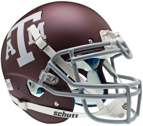 Texas A&M Schutt XP Authentic Full Size Football Helmet