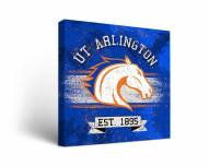 Texas-Arlington Mavericks Banner Canvas Wall Art