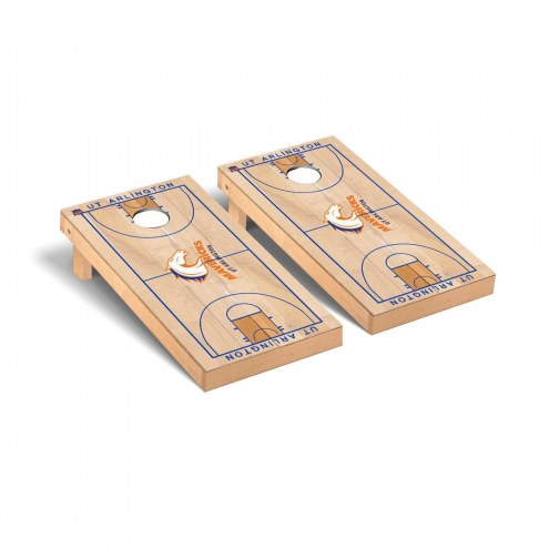 Texas-Arlington Mavericks Basketball Court Cornhole Game Set