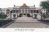 Texas-Arlington Mavericks Campus Images Lithograph