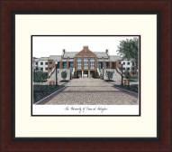 Texas-Arlington Mavericks Legacy Alumnus Framed Lithograph