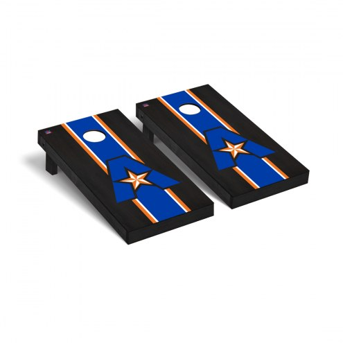 Texas-Arlington Mavericks Onyx Stained Cornhole Game Set
