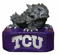 """Texas Christian """"Horned Frog"""" Stone College Mascot"""