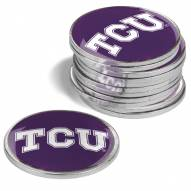 Texas Christian Horned Frogs 12-Pack Golf Ball Markers