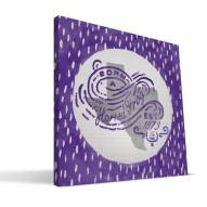 "Texas Christian Horned Frogs 12"" x 12"" Born a Fan Canvas Print"