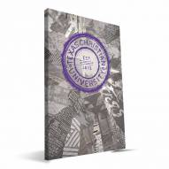 "Texas Christian Horned Frogs 16"" x 24"" Scrapbook Canvas Print"