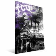 "Texas Christian Horned Frogs 16"" x 24"" Spirit Canvas Print"