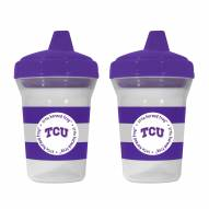 Texas Christian Horned Frogs 2-Pack Sippy Cups