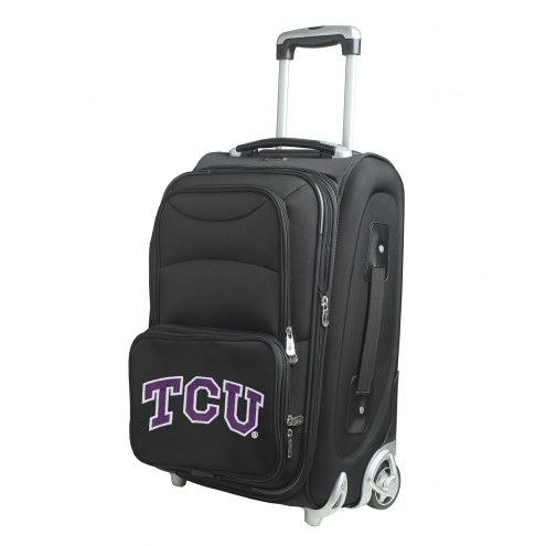 """Texas Christian Horned Frogs 21"""" Carry-On Luggage"""