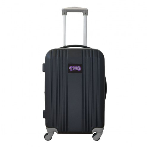 """Texas Christian Horned Frogs 21"""" Hardcase Luggage Carry-on Spinner"""