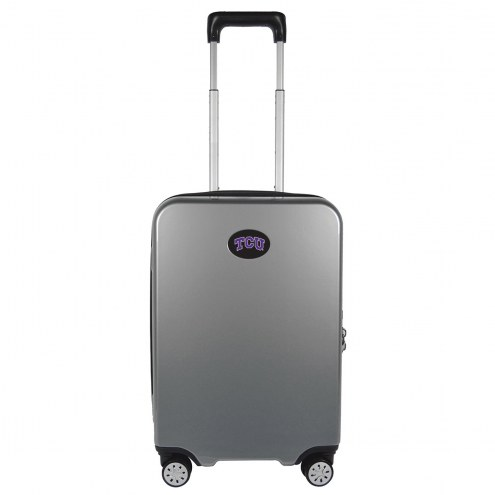 """Texas Christian Horned Frogs 22"""" Hardcase Luggage Carry-on Spinner"""
