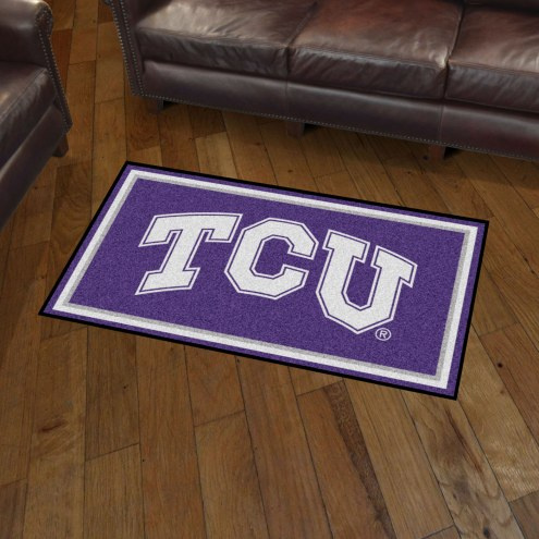Texas Christian Horned Frogs 3' x 5' Area Rug