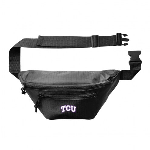Texas Christian Horned Frogs 3-Zip Hip Fanny Pack