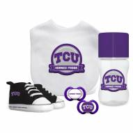 Texas Christian Horned Frogs 5-Piece Baby Gift Set