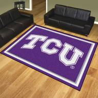 Texas Christian Horned Frogs 8' x 10' Area Rug