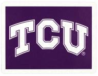Texas Christian Horned Frogs Address Logo
