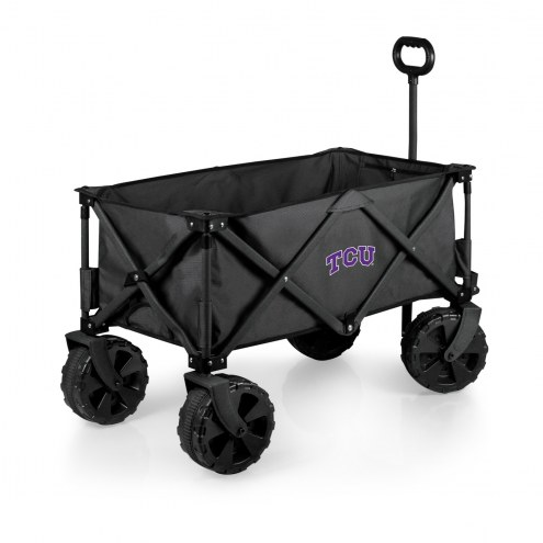 Texas Christian Horned Frogs Adventure Wagon with All-Terrain Wheels
