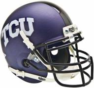 Texas Christian Horned Frogs Alternate 2 Schutt Mini Football Helmet