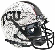 Texas Christian Horned Frogs Alternate 3 Schutt Mini Football Helmet