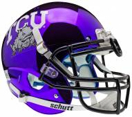 Texas Christian Horned Frogs Alternate 5 Schutt XP Authentic Full Size Football Helmet