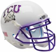 Texas Christian Horned Frogs Alternate 6 Schutt XP Collectible Full Size Football Helmet