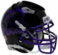 Texas Christian Horned Frogs Alternate 7 Schutt Football Helmet Desk Caddy