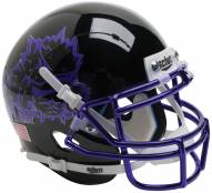 Texas Christian Horned Frogs Alternate 7 Schutt Mini Football Helmet