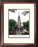 Texas Christian Horned Frogs Alumnus Framed Lithograph